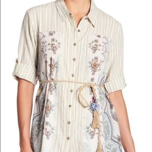 Anthropologie Tops - ARATTA Anthro The Stories of Old Tassel Shirt NWT